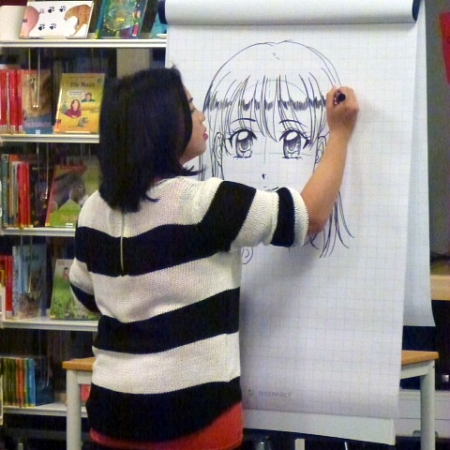 Manga Workshop mit Simone Xie